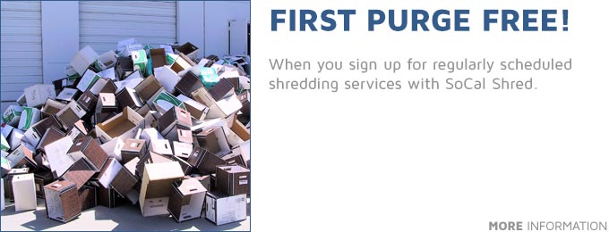 First Purge Shredding Free!